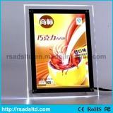 Popular A4 Standing LED Crystal Light Box