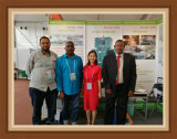 Clients from Sudan visiting our booth on 15th Oct
