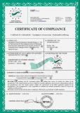 CE certificate of concrete mixing plant