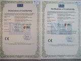 CE certificate of LED light