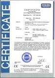 Commercial Freezer Certificate
