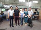 Visiting factory 10th.Sep ,2016