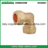 Brass Compression Equal Elbow