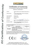 CE certificate of massage chair (MM-007 &MM-006)