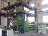 Non woven fabric making production line