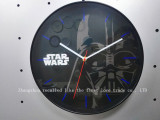 Glass wall digital clock