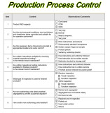Production Process Control