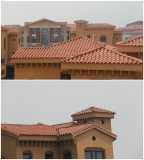 Tianjin roof tile project