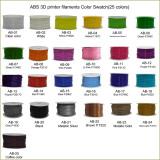 ABS filament 25 solid color