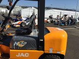 JAC forklift in F1 Sochi tracks