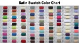 Satin Swatch Color Chart