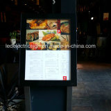 outdoor led light box for led menu board in Australia