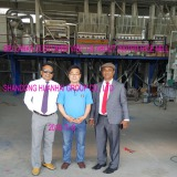 Srilanka customer visit us abou 200TPD rice mill