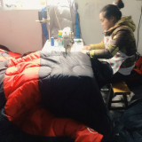 Customer Visiting Sleeping Bag′s Process