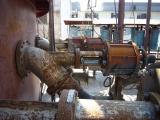 Pneumatic tank bottom angle valve