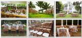 Bamboo Folding Wedding Chair