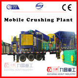 Roller Crusher mobile crushing plant