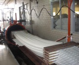 stretch forming machine