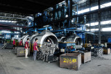 The Automatic Mold line in production