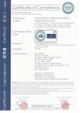 CE certificate for can packaging line