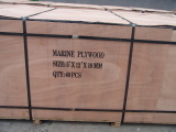 Package for marine plywood