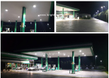 LED Gas Station Light in Serbia