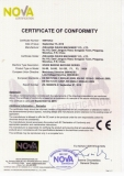 CE Certificate for Recycling Machine