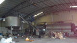 15Ton semi-continuous tyre pyrolsyis plant in Thailand