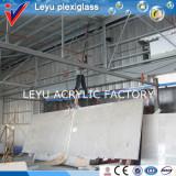 acrylic sheet install at site
