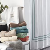 Comfortable and colorful bath towel