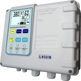 Pump control panel for pressure boosting type
