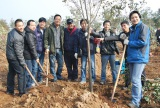 Envrionmental Tour with Tree Planting on arbor day 2017
