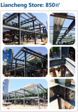 Prefabricated Steel Structure Shopping Center Building