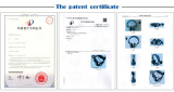 USB Headphone Patent Certificate