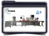 ZHSR-4C automatic water emulsion filling and capping machine