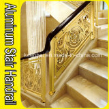 Luxury Aluminum Brass Stair Handrail