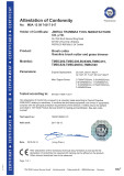 brush cutter certificate