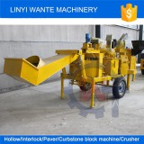WANTE BRAND WT2-20M interlock brick making machine delivering to Uganda