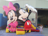 Mickey and Minnie Bouncer