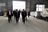 Xingtai city Mayor did work inspection in Hebei Huaqi company