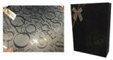 UV on black gift bag