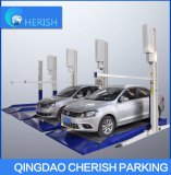 two level simple parking equipment
