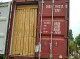 Full loaded container