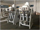 single or dual auger valve bag packing bagging machine for cement powder
