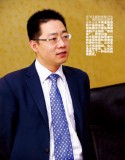 General Manager Liu Wenchao accepts the interview from <elevator> magazine