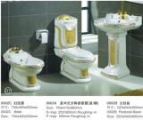Best price/ best sell sanitary ware one piece toilet (0002)