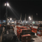 500W Flood light Port Project in Shanghai port of China