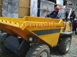 SD30 3 Ton Hydraulic Steering Site Dumper