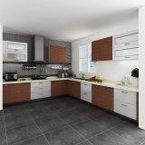 Fashionable Customized Melamine and HPL Kitchen Cabinet