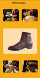 Promote sale military office boots